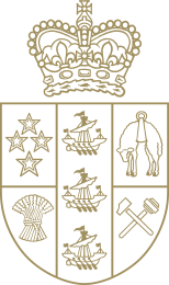Logo - The Governor-General of New Zealand.