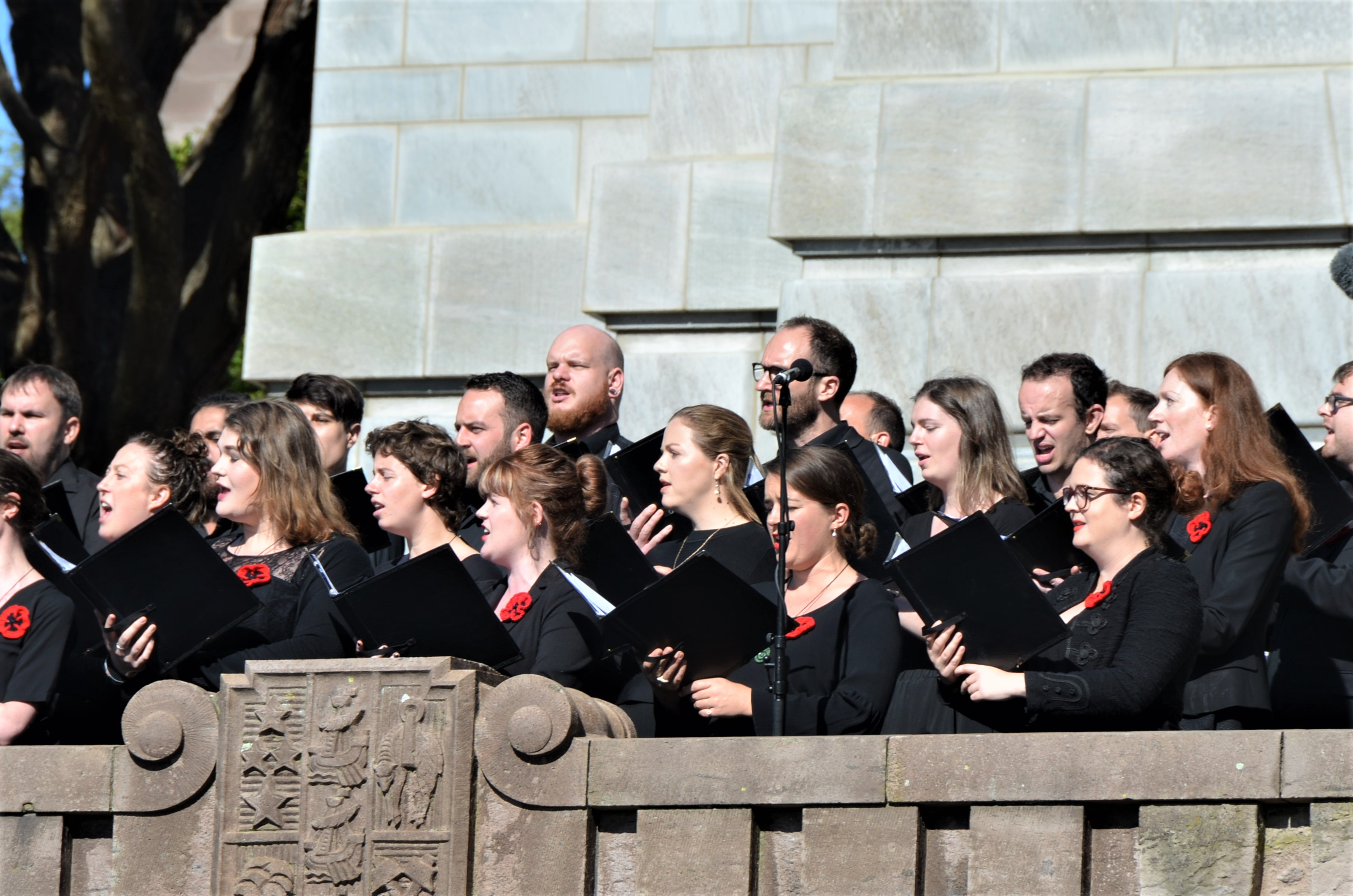 The aptly named Supertonic Choir   The Governor General of New Zealand