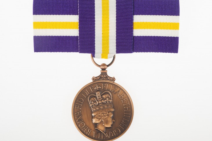 an image of a suffrage medal