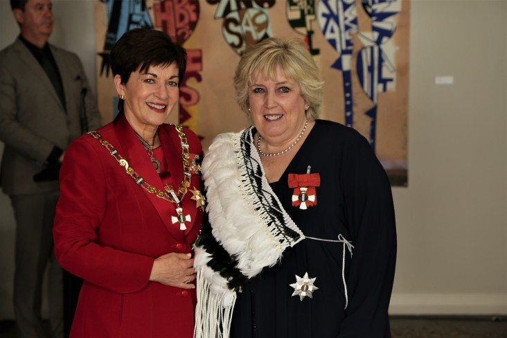 Distinguished Professor Dame Margaret Brimble, of Auckland, DNZM for services to science