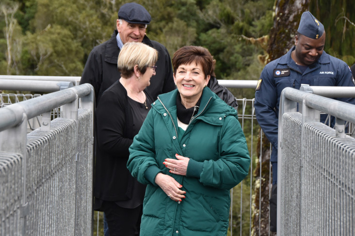 Image of Dame Patsy on the West Coast Treetop Walk