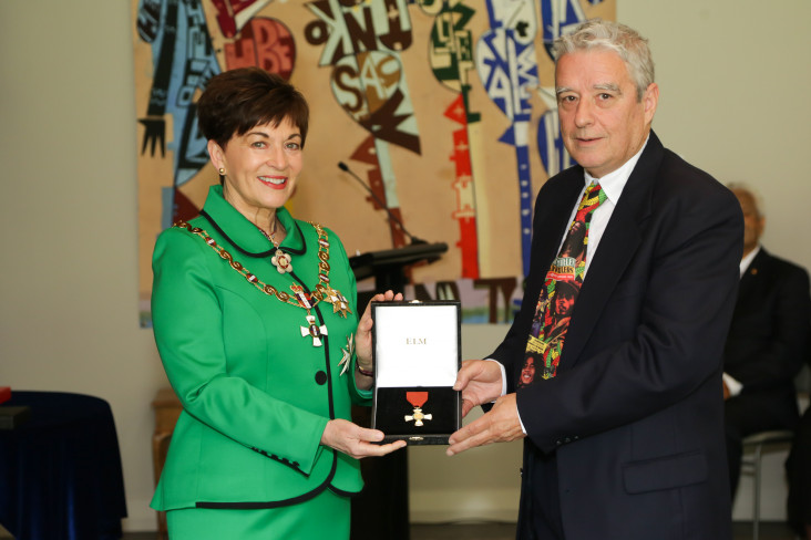 Mr Murray Cammick, of Auckland, ONZM for services to the music industry