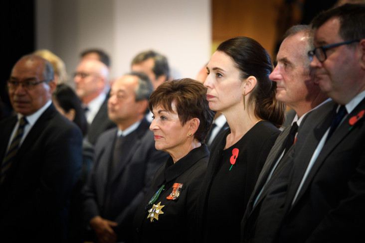 Dame Patsy and the Prime Minister, The Rt Hon Jacinda Ardern