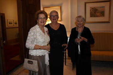 Dame Malvina Major, ONZ, Mrs Ann Bennett and Mrs Angela Gorton.