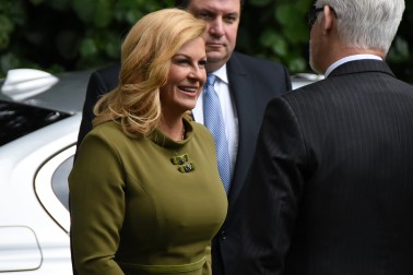 Image of President of the Republic of Croatia,Her Excellency Kolinda Grabar-Kitarovic