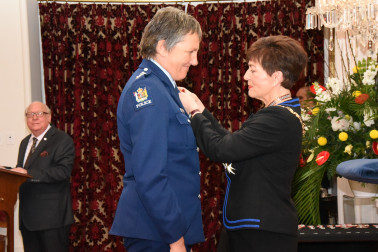 An image of Inspector Karen Henrikson, MNZM of Hamilton, for services to the New Zealand Police and the community