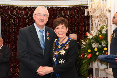 An image of Mr Dermot Byrne, QSM of Wellington, for services to the community.