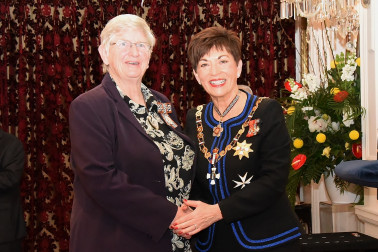 An image of Mrs Sharon Maynard, QSM of Gisborne, for services to Māori and education.