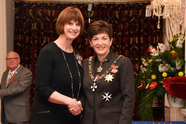 an image of Ms Karen Stade, QSM of Nelson, for services to historical research and the community