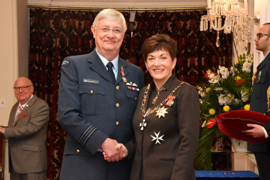 an image of Squadron Leader Nicholas Pedley, DSD for services to the New Zealand Defence Force