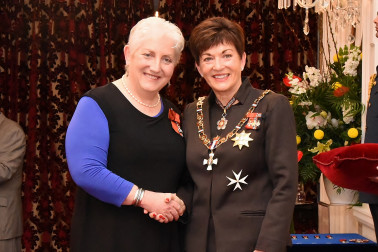 an image of Dr Jill McIlraith, MNZM of Dunedin, for services to health and women