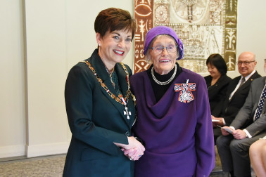 Image of Mrs Dawn White, of Waihi, QSM, for services to veterans
