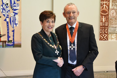 Image of Mr Anthony (Tony) Hall, of Kaiapoi, CNZM, for services to education and sport
