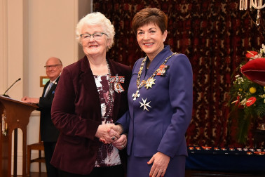 An image of Mrs Deirdre Jolly, QSO of Alexandra, for services to the community.