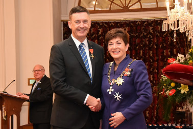 An image of Mr Stuart Crosby, ONZM of Papamoa, for services to local government.
