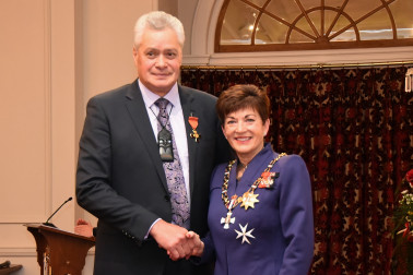 An image of Mr David Higgins, ONZM of Palmerston, for services to Māori.
