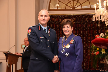 an image of Mr Karl Lapwood, QSM of Hamilton, for services to the New Zealand Fire Service and business.
