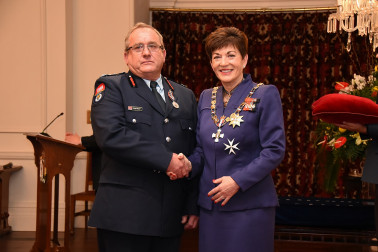 an image of Mr Miles Shelley, QSM of Ngatea, for services to the New Zealand Fire Service and the community.