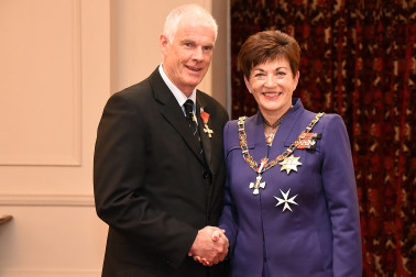 Image of Graeme Steel, of Auckland, ONZM, for services to sport