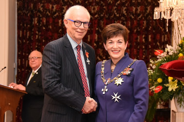 Image of Graham Kennedy, of Ashburton, MNZM, for services to business