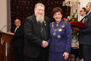 Image of  Alan Parris, of Christchurch, MNZM, for services to mathematical education