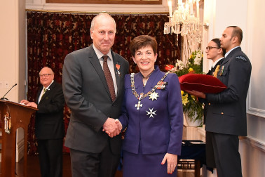 Image of Nick Pyke, of Rolleston, MNZM, for services to the arable industry