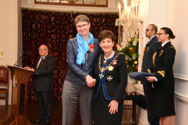 Image of Professor Sally Brooker, of Dunedin, MNZM, for services to science