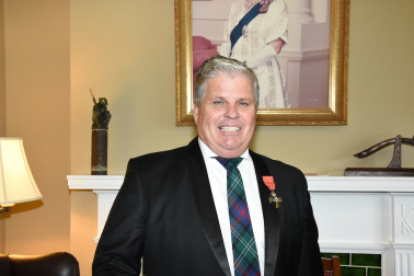 Image of Murray Sutherland, of Kaiapoi, MNZM,for services to the community and the timber industry