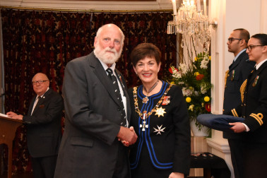 Image of Dick Johns, of Christchurch, QSM, for services to the community