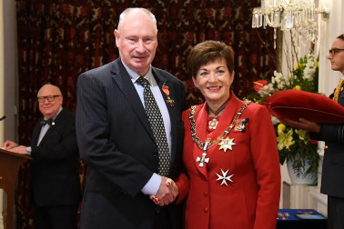 Image of Dr Geoffrey Robinson, of Lower Hutt, ONZM, for services to medicine