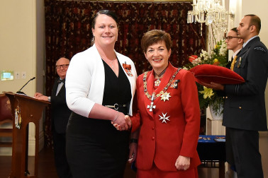 Image of Rebecca Keoghan, of Westport, MNZM, for services to business, particularly the dairy industry