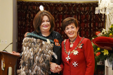 Image of Marama Mullen-Tamati, of Tirau, for services to people with HIV and AIDS