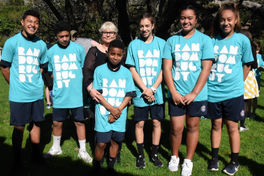 Image of students from Pakuranga Intermediate