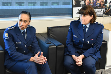 Image of Inspector Naila Hassan and Superintendent Jill Rogers