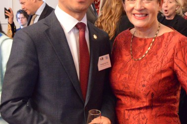Image of Dame Patsy and the South Korean Ambassador, HE Seung-bae Yeo