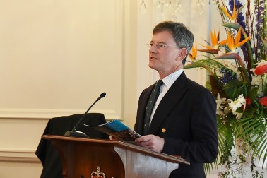Image of the Hon Chris Finlayson speaking