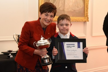 Image of Dame Patsy and Frances Clarke Award recipient, Fletch Gallagher