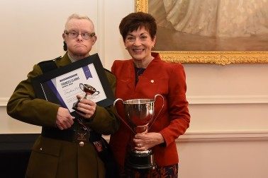 Image of Dame Patsy and Frances Clarke Award recipient Stephen Williams