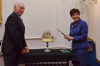an image of Dame Patsy and James Guild, Chair of QEII National Trust