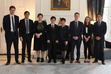 an image of Dame Patsy and finalists