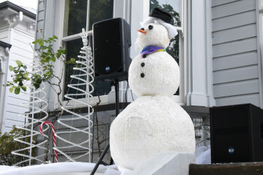 Image of a snowman