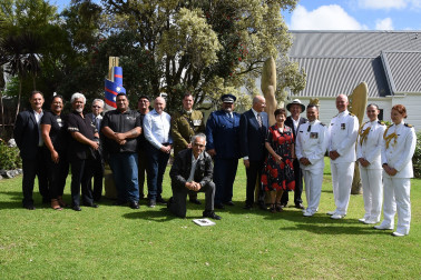 an image of group photo with service personnel and tangata whenua