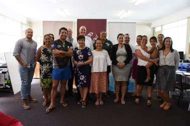 an image of Their Excellencies at Moko Foundation's premises in Kaitaia