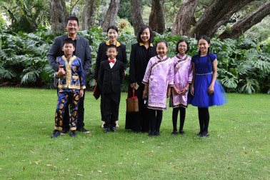 an image of Guests from Fo Guang Shan Chinese School