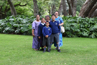 an image of Guests from Holy Family School, Porirua