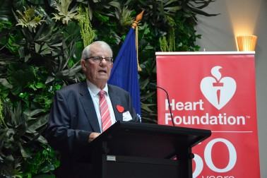 Image of Heart Foundation Chairman, MIke Tomlinson