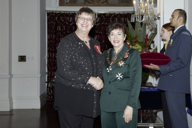 Image of Dame Patsy and Elise Bradley