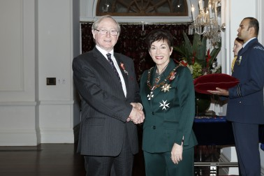Image of Dame Patsy Reddy and Cam Moore