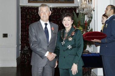 Image of Dame Patsy Reddy and Paul Pritchett