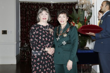 Image of Dame Patsy and Carrol Browne